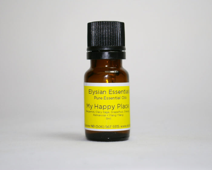 My Happy Place Essential Oil Blend - Elysian Natural Soap + Skin Care