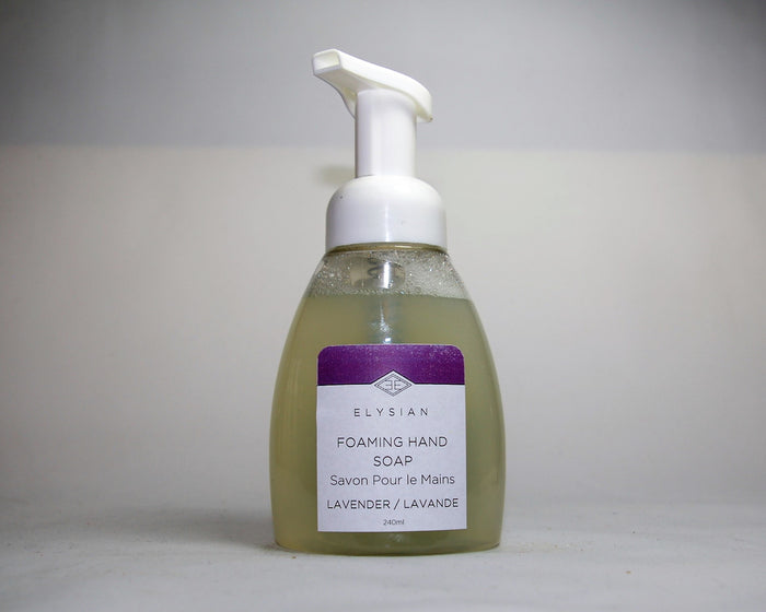 Lavender Foaming Hand Soap - Elysian Natural Soap + Skin Care