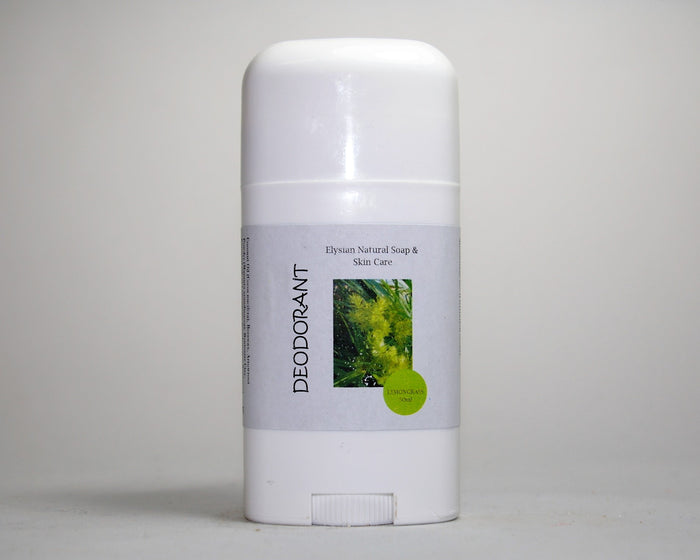 Lemongrass Deodorant - Elysian Natural Soap + Skin Care