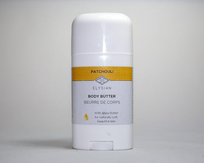 Patchouli Body Butter - Elysian Natural Soap + Skin Care