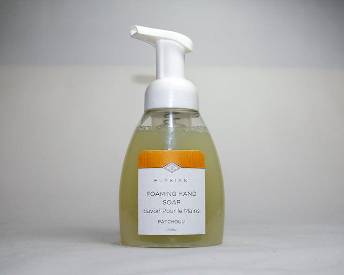 Patchouli Foaming Hand Soap - Elysian Natural Soap + Skin Care