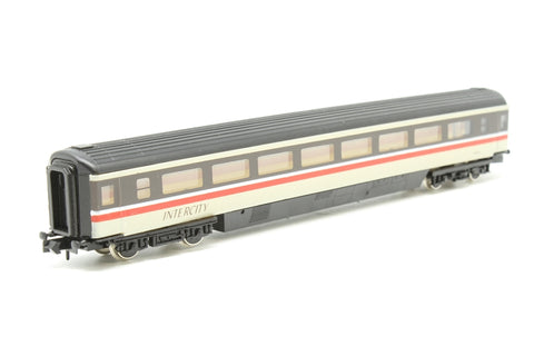 Mk3 Open Trailer Second (TS) in Intercity Swallow Livery - Pre-owned - replacement box