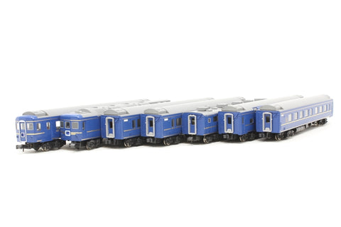 JR Series 24-25 6-car sleeper coach pack