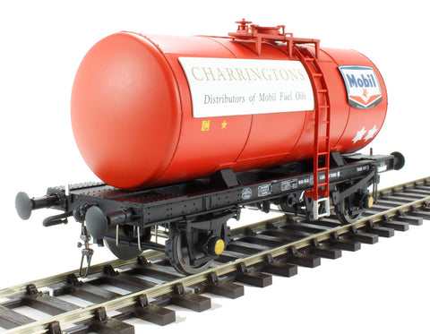 4-wheel Class B tank in Mobil Charrington red