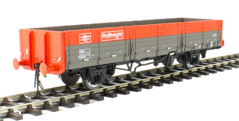OAA open wagon in Railfreight red and grey
