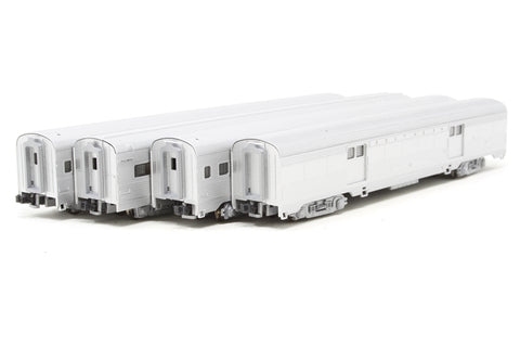 Corrugated 4-Car Passenger set C- Southern - Pre-owned - Like new