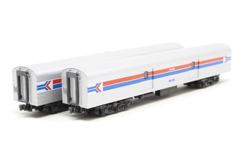 Amtrak Baggage Car 2 Car Set - Pre-owned - Like new