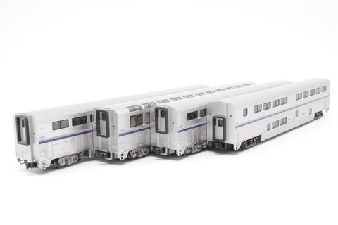 Autorack Amtrak 4 Car Set No.2 - Pre-owned - Like new