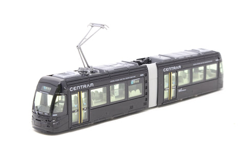 Centram Articulated Tram 9003 in Black of the Toyama LRT - Pre-owned - Like new
