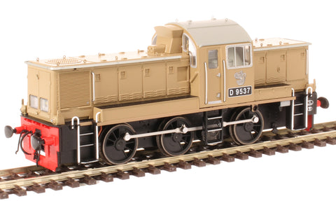 Class 14 D9537 in BR desert sand - as preserved