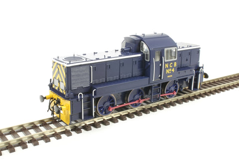 Class 14 National Coal Board Ashington No.4 in NCB blue