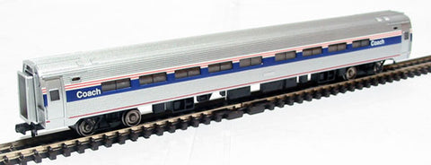 85ft Amfleet I Phase IV B Amtrak coach with lights