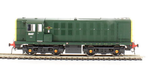 Class 16 North British Type 1 D8407 in BR green wtih full yellow ends - Limited Edition of 750