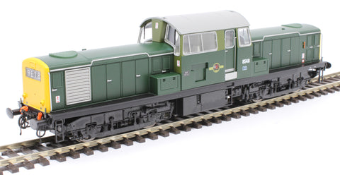 Class 17 'Clayton' 8546 in BR green with full yellow ends
