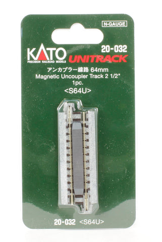 Magnetic uncoupler track 2.5