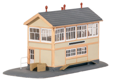 GWR-style wooden signal box - plastic kit