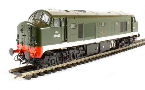 Class 23 Baby Deltic D5900 green with headcode discs and frost grilles - gloss