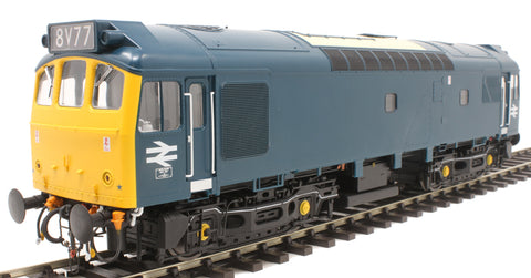 Class 25/3 in BR blue with cabside arrows - unnumbered