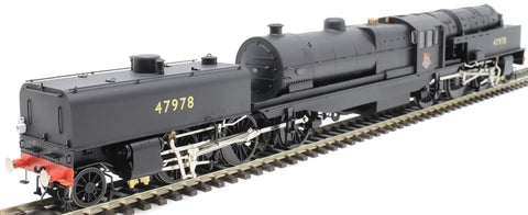 Beyer Garratt 2-6-0 0-6-2 47978 in BR black with early emblem and revolving coal bunker