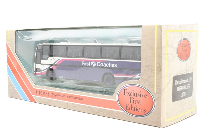 """Plaxton Paramount 3500 coach """"First Coaches"""" - Pre-owned -  like new"""