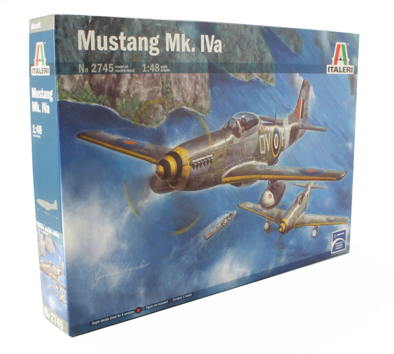 North American Mustang MkIVa with RAF transfers (4 versions)