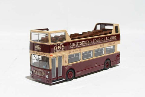 DMS type Daimler Fleetline open top d/deck bus