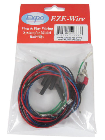 Point Motor wiring Harness - Suitable For Peco Point Motors (PL-10)