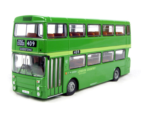 GM Standard Atlantean d/deck bus in green