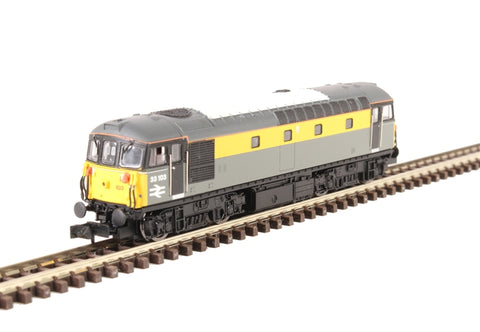 Class 33/1 33103 in BR civil engineers 'Dutch' livery - DCC fitted