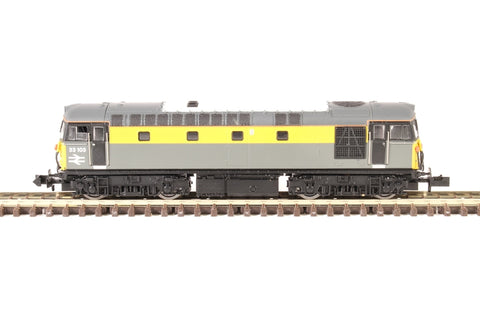 Class 33/1 33103 in BR civil engineers 'Dutch' livery - Digital fitted