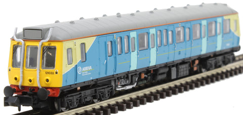 Class 121 'Bubble Car' DMU 121032 in Arriva Trains Wales livery - DCC fitted