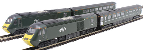 Class 43 HST 4-car book set in GWR Green