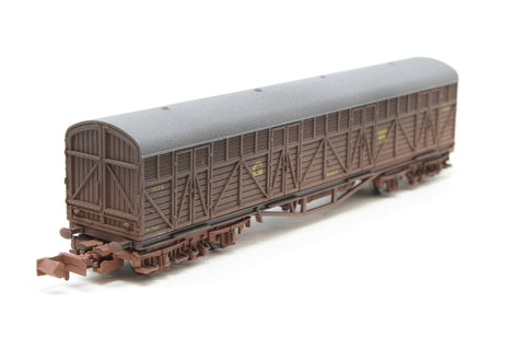 Siphon H milk wagon 1424 in GWR livery - weathered - Pre-owned - Like new - imperfect box