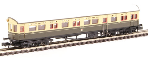 Collett Autocoach 188 in GWR chocolate and cream with Twin Cities crest