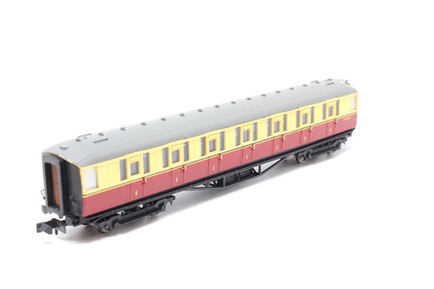 Gresley BR Carmine & Cream 1st Class E11032E LBR - Pre-owned - Like new