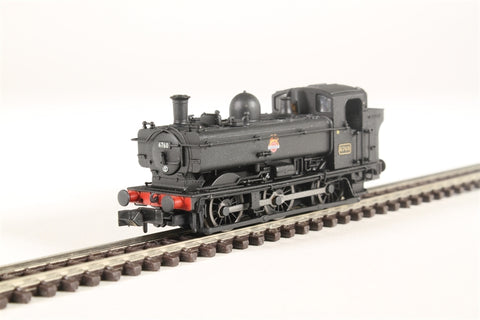 Class 57xx Pannier 0-6-0PT 6760 in BR black with early emblem and later cab