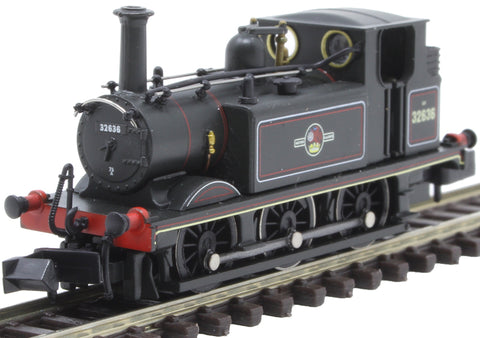 Class A1X 'Terrier' 0-6-0T 32636 in BR black with late crest