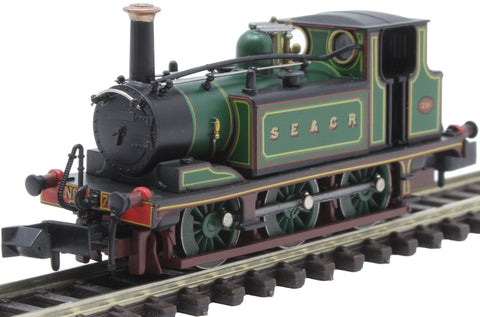 Class A1X 'Terrier' 0-6-0T 751 in South Eastern and Chatham Railway green