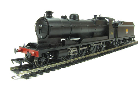 Class 30xx 2-8-0 ROD 3023 in BR black with early emblem