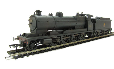Class 30xx 2-8-0 ROD 3036 in BR black with early emblem - weathered