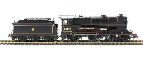 Class D11/2 4-4-0 62682 'Haystoun of Bucklaw' in BR black with early emblem