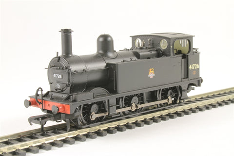 Class 1F 0-6-0T 41726 in BR black with early emblem