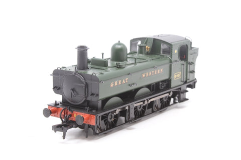 Class 64xx 0-6-0 Pannier tank 6407 in GWR green - Pre-owned -  GWR logo with Great Western decals - like new box