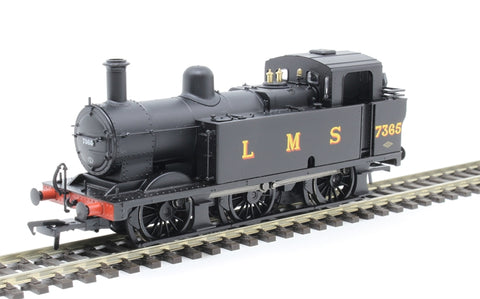 Class 3F Jinty 0-6-0T 7365 in LMS black - DCC sound fitted