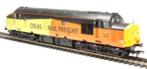 Class 37/4 37421 in Colas Rail livery