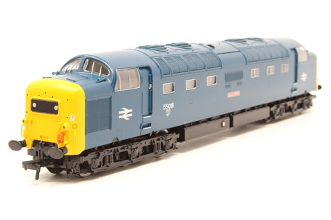 Class 55 Deltic 55018 'Ballymoss' in BR Blue - DCC sound fitted - Pre-owned - Like new