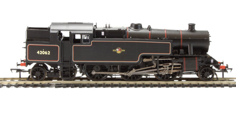Class 4MT Fairburn 2-6-4 tank 42062 BR lined black with late crest