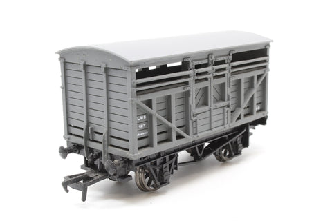 Cattle Wagon M14400 in LMS Grey Livery - Pre-owned - Like new -  imperfect box