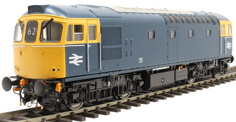 Class 33/0 in BR blue - 1970s condition - unnumbered