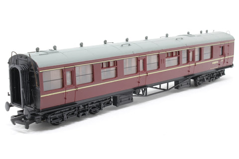 Collett 60' 2nd class brake coach W1657W in BR Maroon - Pre-owned - Like new - Imperfect box
